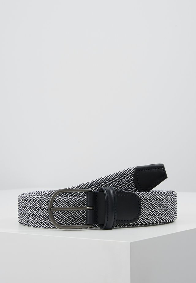 STRECH BELT - Skärp - dark blue