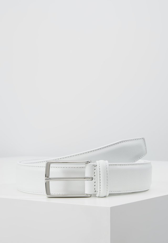 SMOOTH BELT SEAM - Gürtel - white