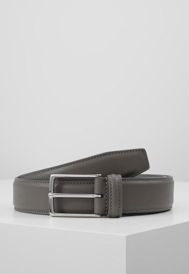 SMOOTH BELT SEAM - Skärp - grey