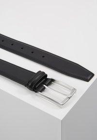 Anderson's - SMOOTH BELT SEAM - Gürtel - black - 2