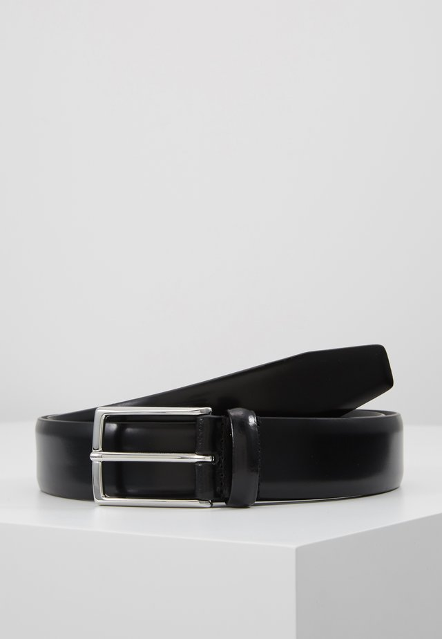 SHINY SMOOTH BELT - Riem - black