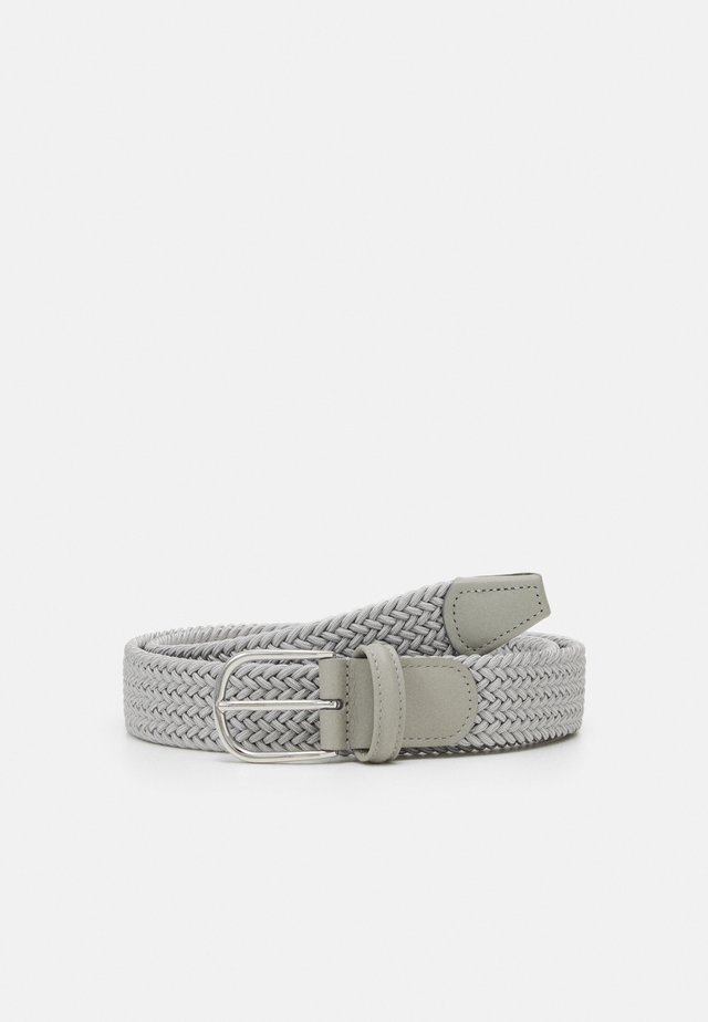 STRECH BELT - Pasek - light grey
