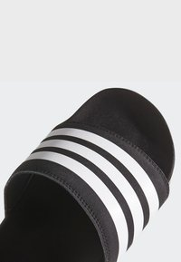 adidas Performance - ADILETTE CLOUDFOAM PLUS STRIPES SLIDES - Slippers - black/white - 7