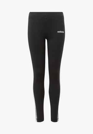 ESSENTIALS 3-STRIPES TIGHTS - Leggings - black