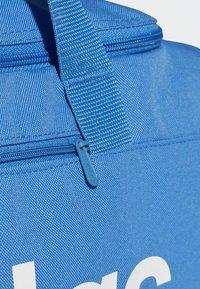 adidas Performance - LINEAR CORE DUFFEL BAG SMALL - Sports bag - blue - 4