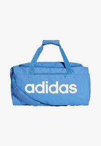 adidas Performance - LINEAR CORE DUFFEL BAG SMALL - Sports bag - blue - 0