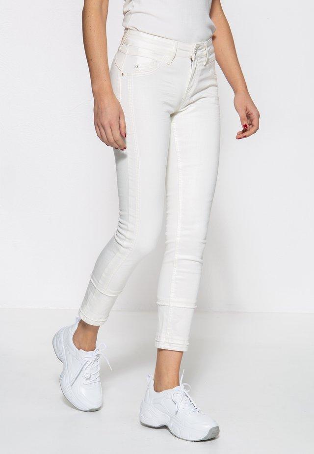 MIT SCH - Jeans Skinny - weiß