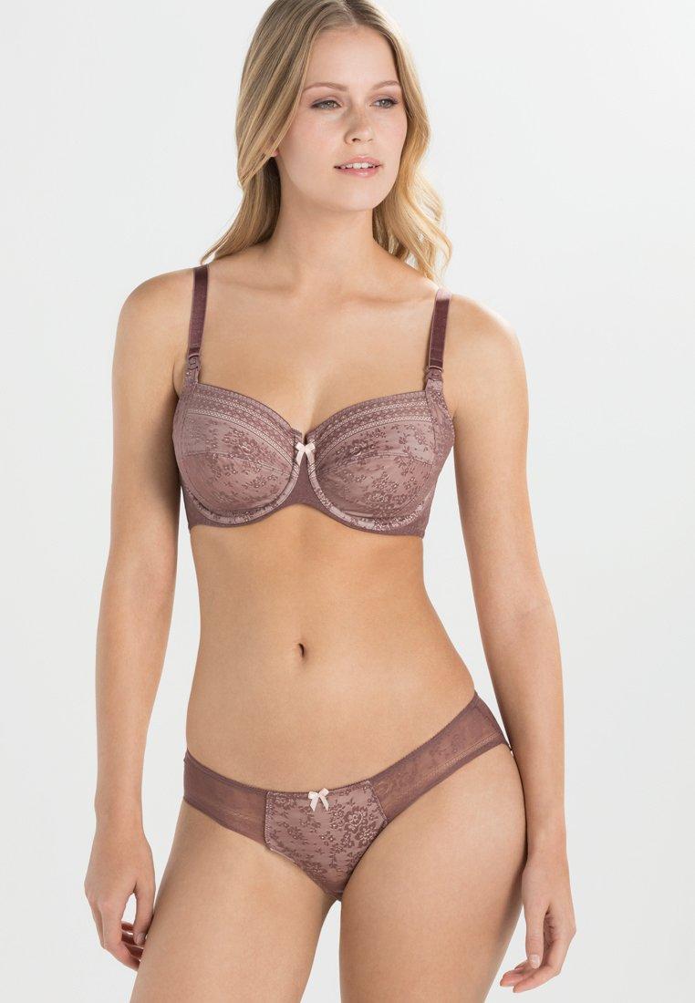 Anita - FLEUR STILL-BH NURSING BRA - Underwired bra - berry