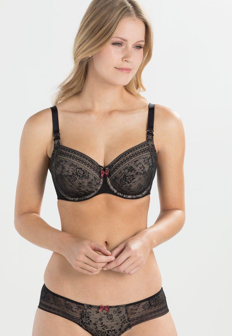 Anita - FLEUR STILL-BH NURSING BRA - Underwired bra - schwarz