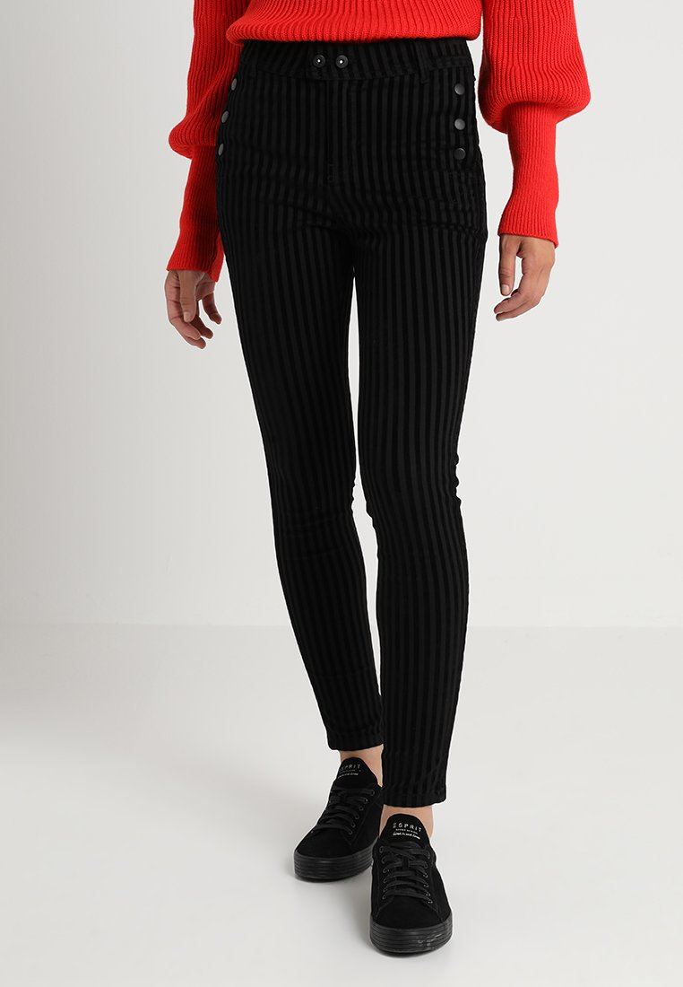 Aaiko - ROJA - Trousers - black