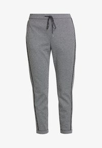 Aaiko - POPPIN PIED - Tracksuit bottoms - black - 4