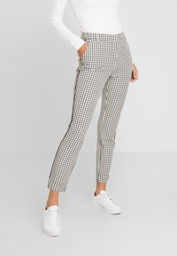 Aaiko - PARIEN CHECK - Trousers - nude - 2