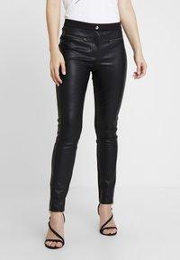 Aaiko - PERSY - Pantalon classique - black - 0