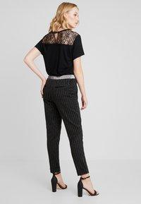 Aaiko - PHIEN - Trousers - black - 0
