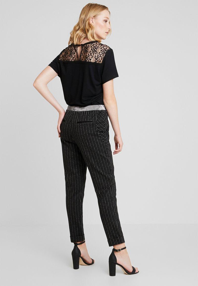 Aaiko - PHIEN - Trousers - black