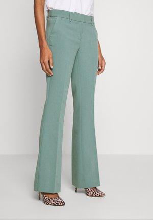 FLARENE - Pantalones - steel green