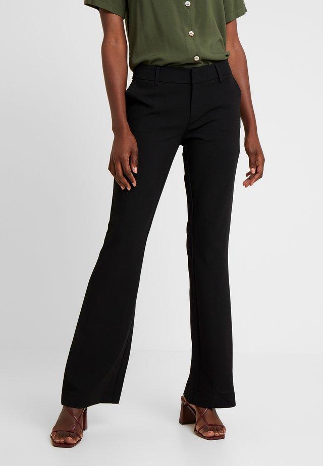 FLARENE - Trousers - black