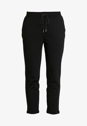 POPPIN - Spodnie materiałowe - black