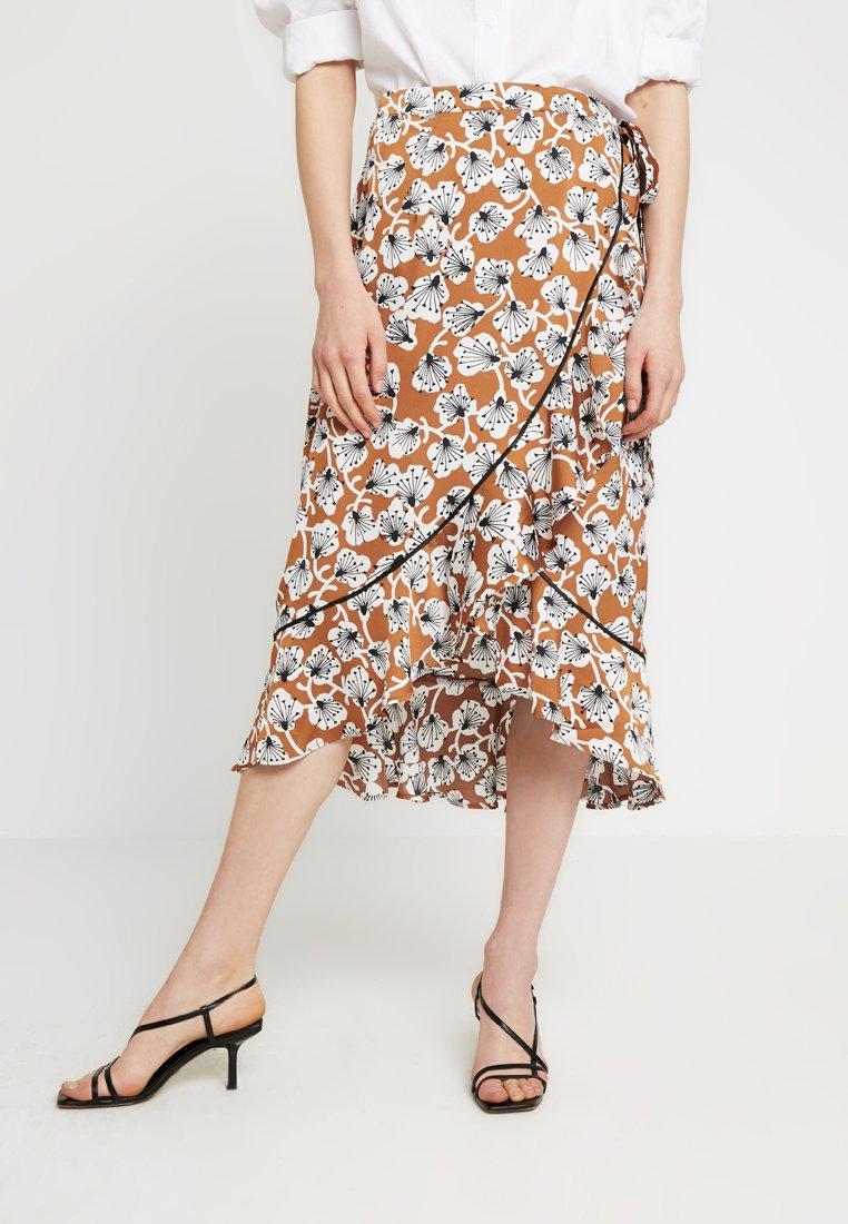 Aaiko - Wrap skirt - caramel