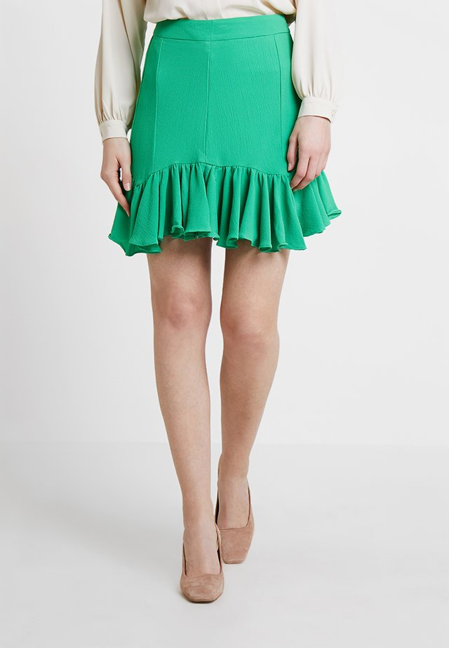 SILLO BUBBLE - A-line skirt - vibrant green