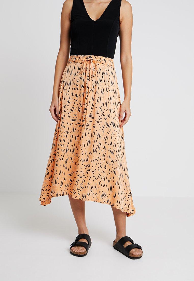 Aaiko - MYRAN ANIMAL - A-line skirt - apricot