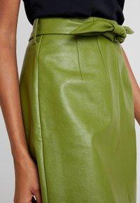 Aaiko - PATIA - A-line skirt - jungle green - 4