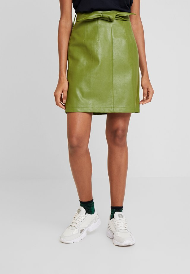 PATIA - A-line skirt - jungle green