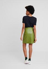 Aaiko - PATIA - A-line skirt - jungle green - 2