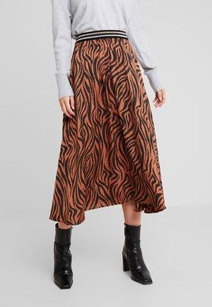 MELILA - A-line skirt - hazel