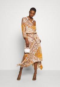Aaiko - SURI VIS  - A-line skirt - sudan brown - 1