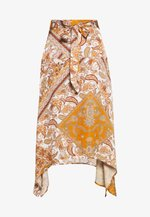 SURI VIS  - Áčková sukně - sudan brown