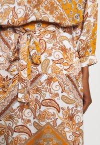 Aaiko - SURI VIS  - A-line skirt - sudan brown - 5