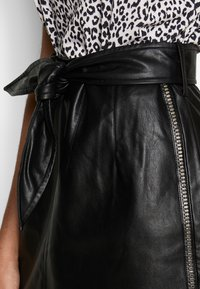 Aaiko - PATIA STUDS - A-line skirt - black - 4