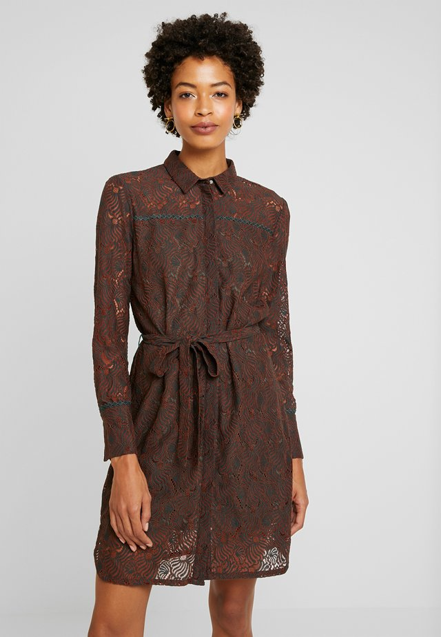 LADINA - Shirt dress - ginger