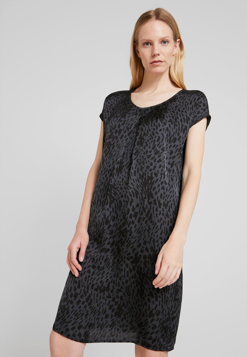 Aaiko - MADRID SPOTS - Day dress - steel grey