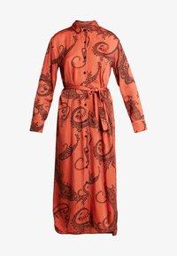 Aaiko - PALMA PAISLEY - Maxi dress - chili - 4