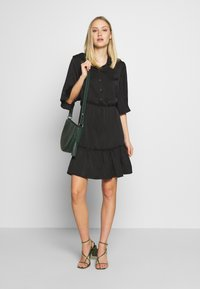 Aaiko - SARIAN  - Shirt dress - black - 1