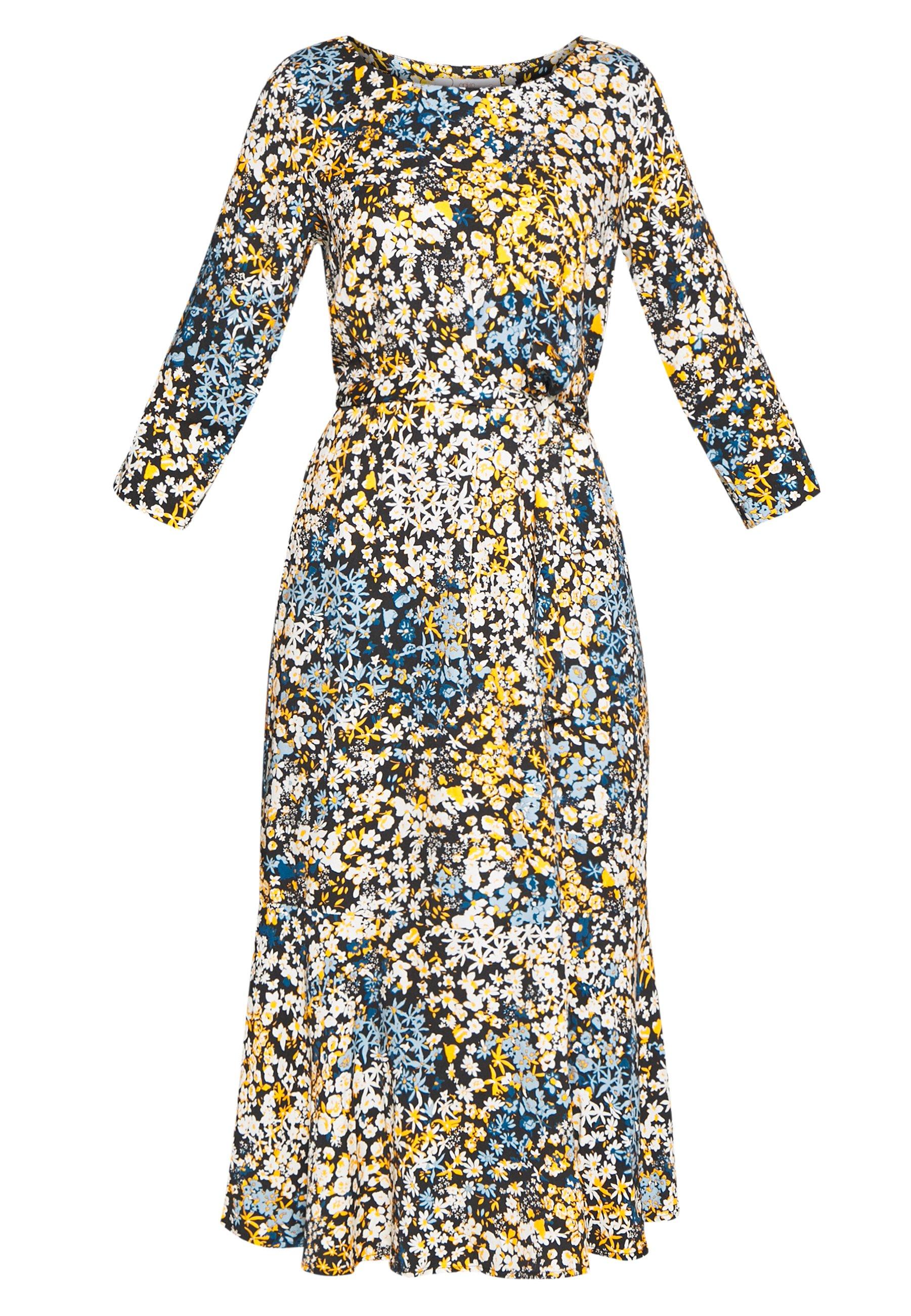Aaiko AULUNA FLORAL - Sukienka letnia - sudan brown