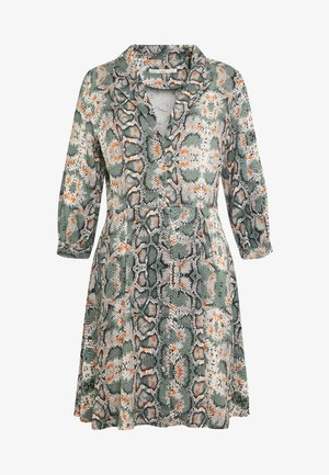 TERRI - Jersey dress - light steel green