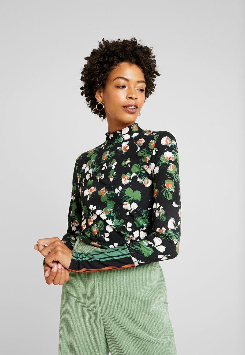 Aaiko - ZERA MIX - Maglietta a manica lunga - jungle green