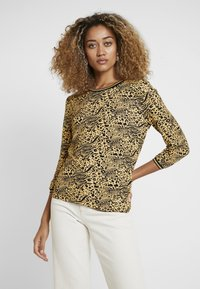 Aaiko - GOLDY MIX - Long sleeved top - honey - 0