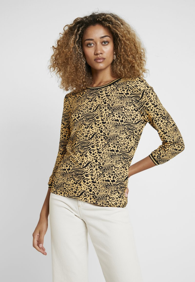 Aaiko - GOLDY MIX - Long sleeved top - honey