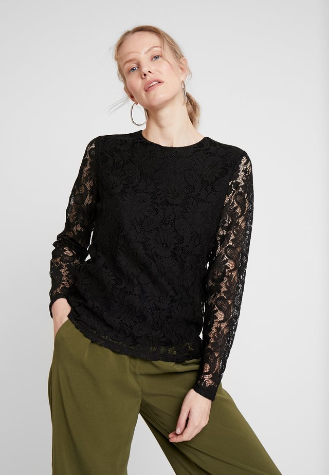 CAMILA - Blouse - black