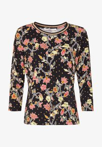 Aaiko - SINDY FLOWER - Long sleeved top - black - 3