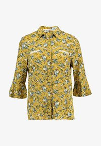 Aaiko - SILIE - Button-down blouse - golden olive - 4