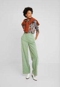 Aaiko - VILOU CAMO - Button-down blouse - ginger - 1
