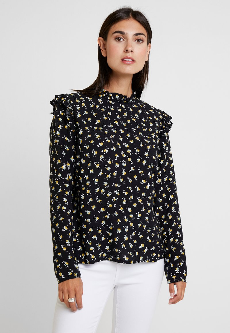 Aaiko - FRANCE FLOWER - Bluse - black