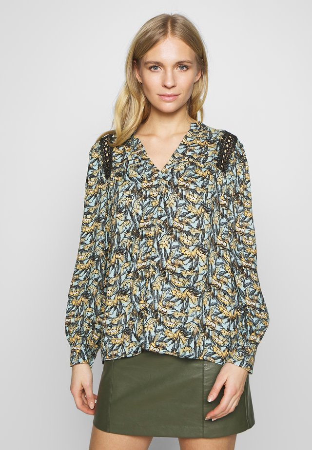 AMIRA ANIMAL - Blouse - bleached blue