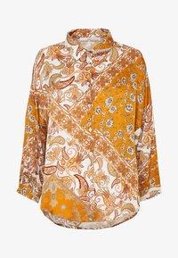 Aaiko - SADÉ - Button-down blouse - sudan brown - 3