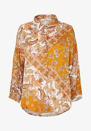 SADÉ - Button-down blouse - sudan brown